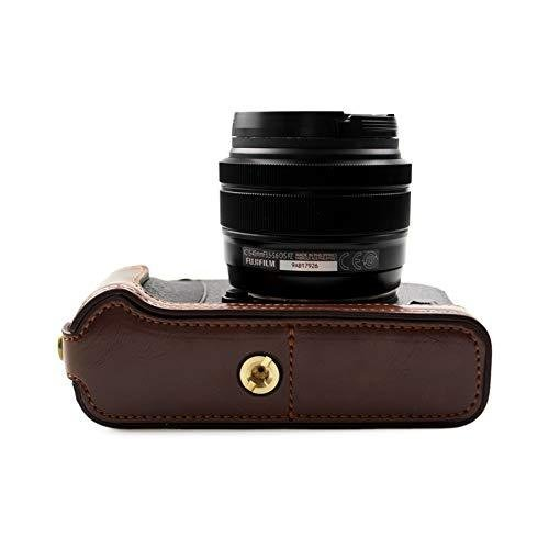 kinokoo FUJIFILM 富士フイルム X-E3 専用 カメラケース ボディケース バッテリーの交換でき (コーヒーA) shopkimagure 04