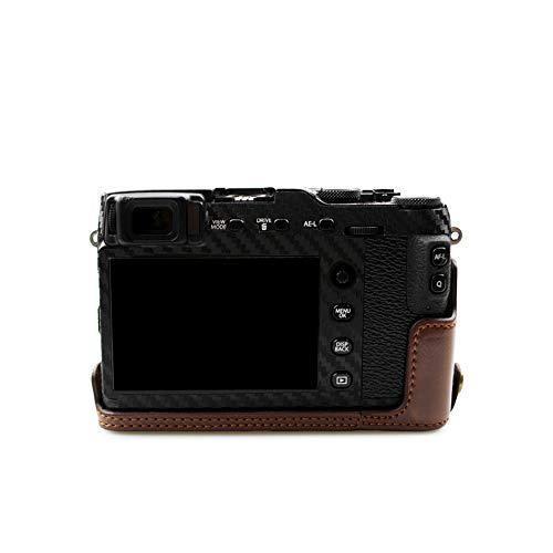 kinokoo FUJIFILM 富士フイルム X-E3 専用 カメラケース ボディケース バッテリーの交換でき (コーヒーA) shopkimagure 05
