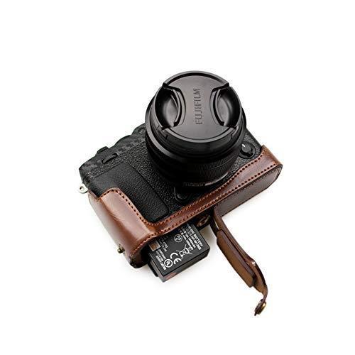 kinokoo FUJIFILM 富士フイルム X-E3 専用 カメラケース ボディケース バッテリーの交換でき (コーヒーA) shopkimagure 06