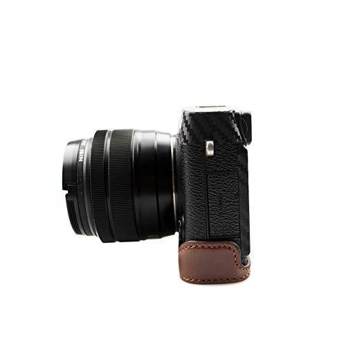 kinokoo FUJIFILM 富士フイルム X-E3 専用 カメラケース ボディケース バッテリーの交換でき (コーヒーA) shopkimagure 07