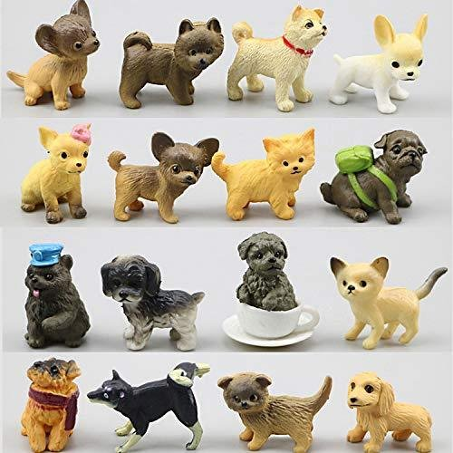 動物フィギュアセット 28個 ミニ犬 フィギュア おもちゃ 子犬おもちゃセット 小さい動物おもちゃ shopkimagure 02