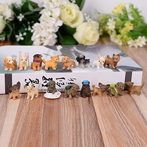 動物フィギュアセット 28個 ミニ犬 フィギュア おもちゃ 子犬おもちゃセット 小さい動物おもちゃ shopkimagure 03