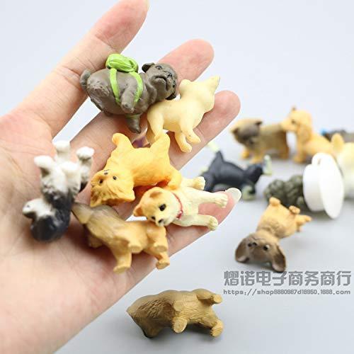 動物フィギュアセット 28個 ミニ犬 フィギュア おもちゃ 子犬おもちゃセット 小さい動物おもちゃ shopkimagure 06