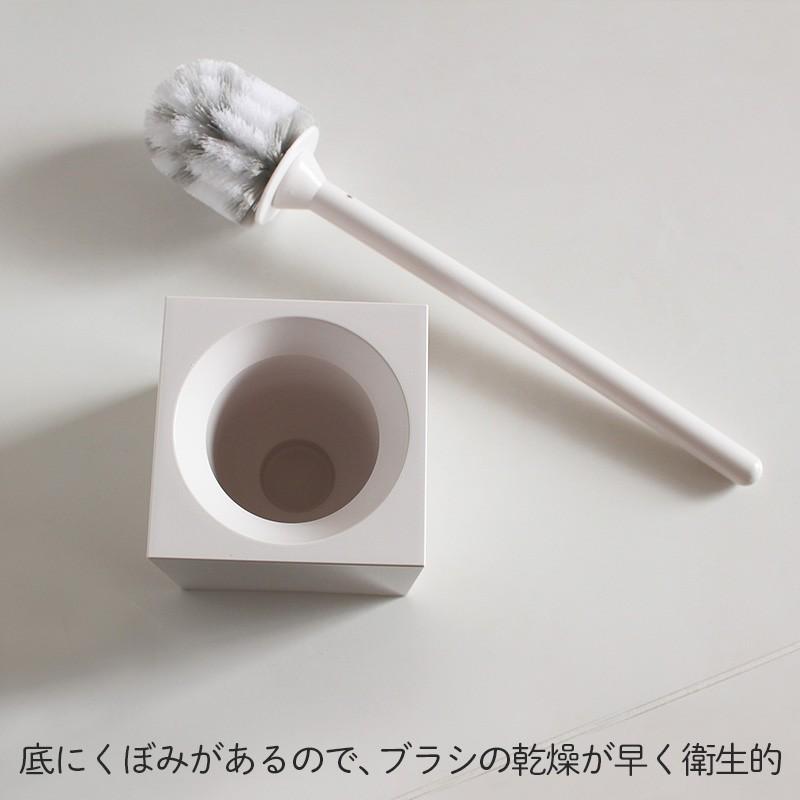 ブラシ スクエアトイレブラシ W061 お掃除 清潔 きれい マーナ公式 MARNA マーナ shopmarna 03
