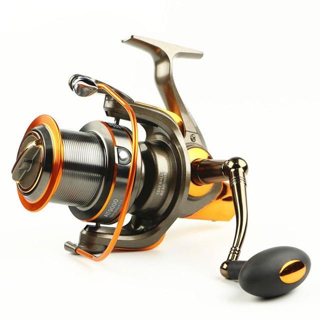 ローリングサーフリール新13 + 1 bb 4.6: 1金属スピニング釣りリール大型海ホイールト8000 9000