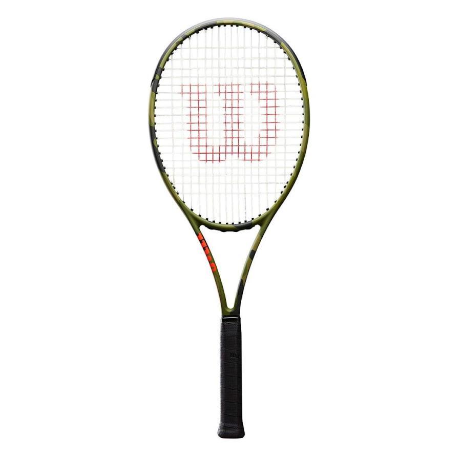 Wilson(ウイルソン) 硬式テニス ラケット フレームのみ BLADE98L CAMO(ブレード98L カモ) グリップサイズ2 WRT
