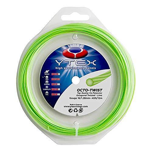 YTEX(ワイテックス) オクトツイスト グリーン 1.28mm 200Mロール 硬式テニス ポリエステルガット (19y6m) shopp-hayato