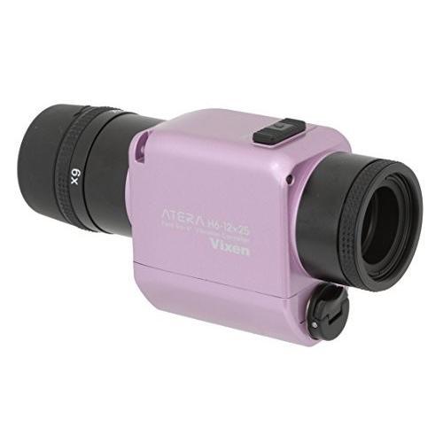 Vixen 単眼鏡 防振単眼鏡 ATERA H6-12×25 パウダーピンク 11491-7