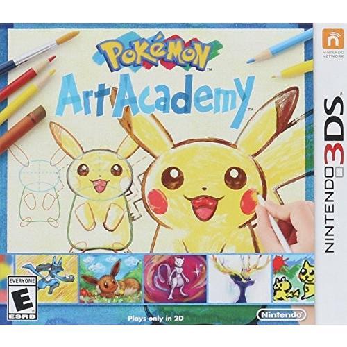 ポケモンアートアカデミー - 3DS 北米版 Pokemon Art Academy - 3DS