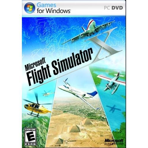 北米版 マイクロソフトフライトシミュレータX Microsoft Flight Simulator X Standard DVD - PC
