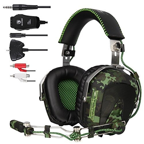 Sades SA926ゲームヘッドセットステレオ 北米版 Sades SA926 Gaming Headset Stereo Wi赤 Over Ear Headphones