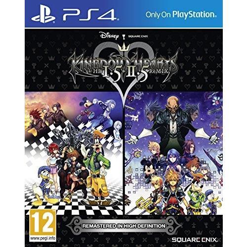 キングダムハーツHD 1.5と2.5リミックスPS4 北米版 Kingdom Hearts HD 1.5 and 2.5 Remix PS4