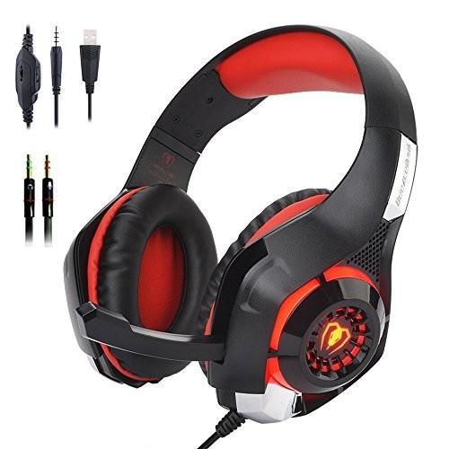 ステレオゲーム用ヘッドセットPS4 Xbox One、Bee 北米版 Stereo Gaming Headset for PS4 Xbox One, Beexcellent 3.5mm Ba