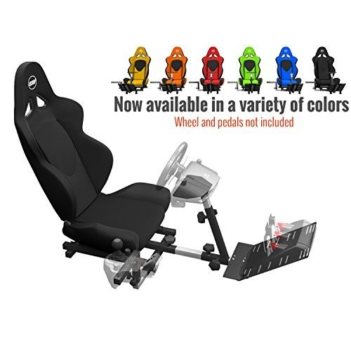 Openwheeler Racing Wheelスタンドコッ 北米版 Openwheeler Racing Wheel Stand Cockpit 黒 on 黒 | For