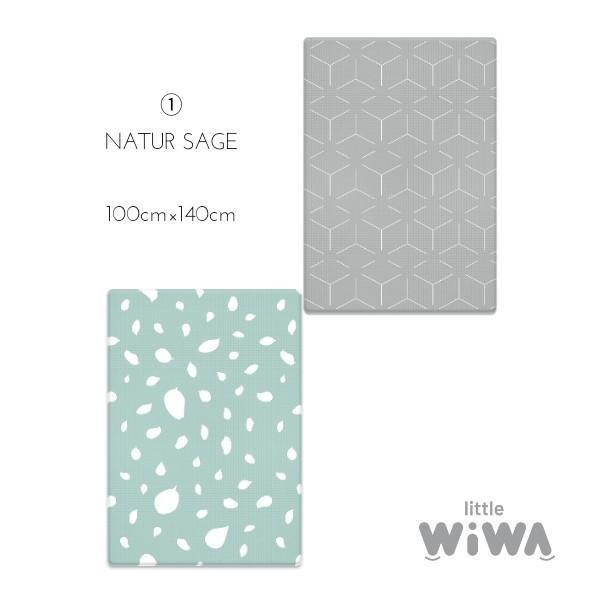 Little Wiwa正規品 高品質 TPUプレイマット 防音 防水 衝撃吸収 組み立て不要1.5cm厚 リバーシブルフロアマット [SMALL SIZE] shoptakaraya 16