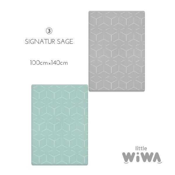 Little Wiwa正規品 高品質 TPUプレイマット 防音 防水 衝撃吸収 組み立て不要1.5cm厚 リバーシブルフロアマット [SMALL SIZE] shoptakaraya 18