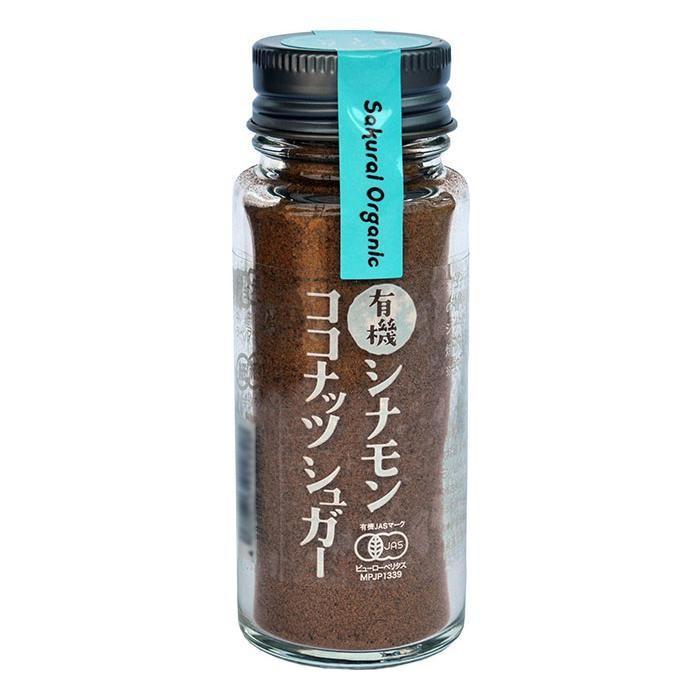 桜井食品 有機シナモンココナッツシュガー 35g×12個 き