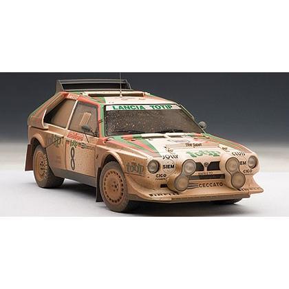 AUTOart 1/18 ランチア デルタ S4 '86 #8 (サンレモ・ラリー2位/チェラト) ウェザリング 88619