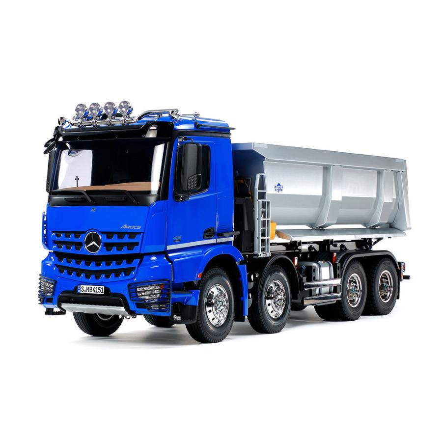 タミヤ 1/14RC メルセデス・ベンツ アロクス 4151 8x4 ダンプトラック (プロポ付) ITEM5636|shoptakumi