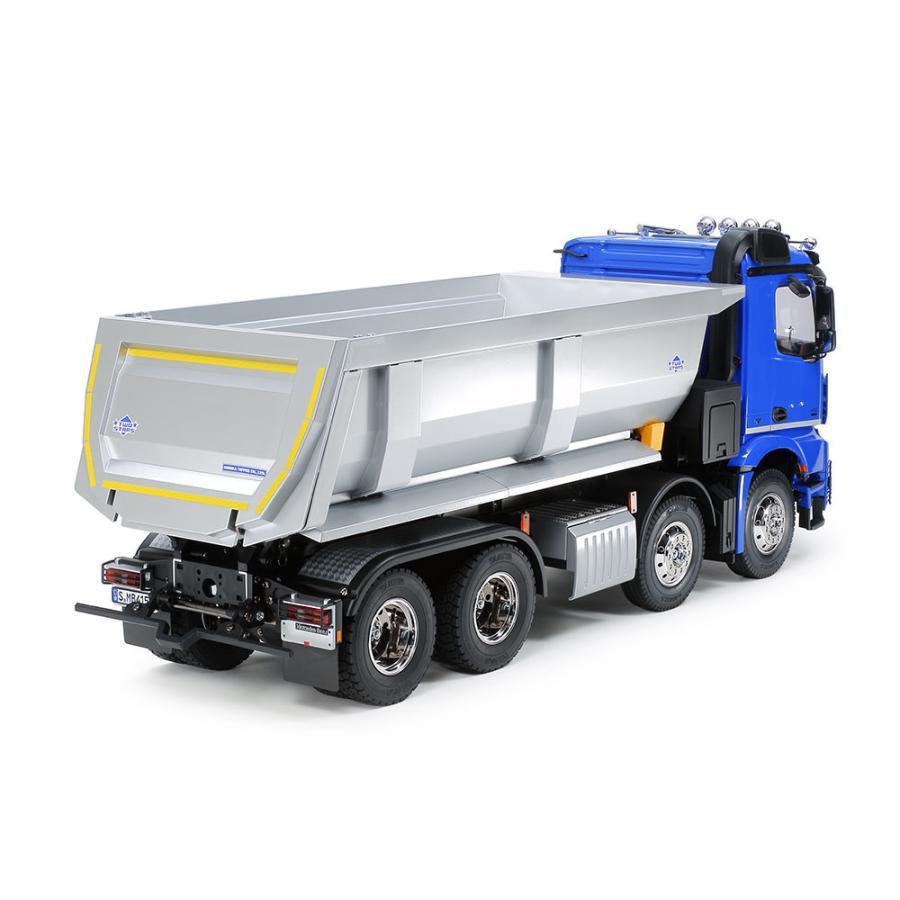 タミヤ 1/14RC メルセデス・ベンツ アロクス 4151 8x4 ダンプトラック (プロポ付) ITEM5636|shoptakumi|02