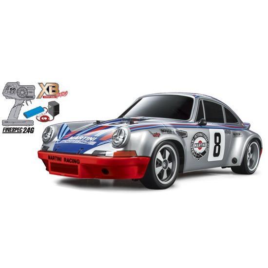 タミヤ☆1/10 RCカー XB ポルシェ 911 カレラ RSR(TT-02シャーシ) 57866 組立て完成済みフルセット