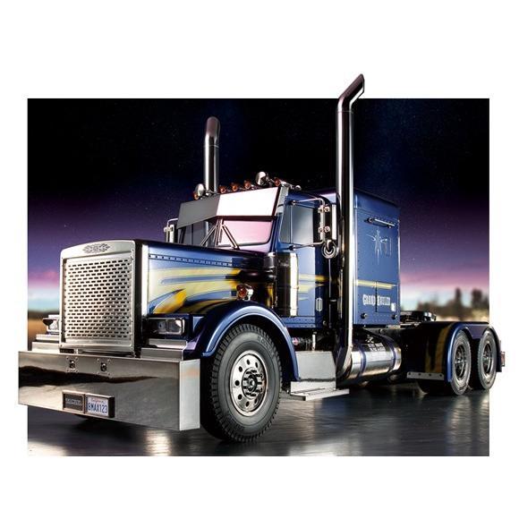 タミヤ☆1/14 RCビッグトラック トレーラーヘッド グランドハウラー フルオペレーション(プロポ付) 56343