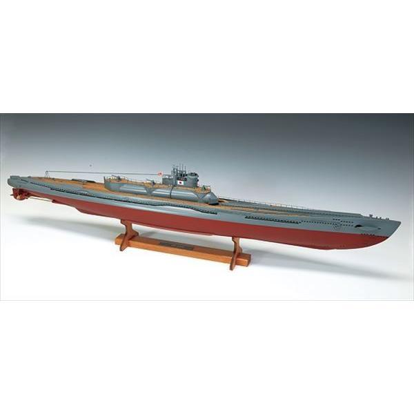 ウッディジョー☆木製模型 1/144 伊400 日本特型潜水艦
