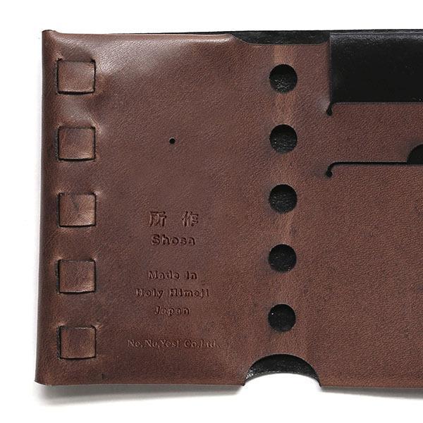 財布 二つ折り 三つ折り メンズ レディース 牛革 所作 cp2.5|shosa-nonoyes|05