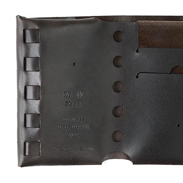 財布 二つ折り 三つ折り メンズ レディース 牛革 所作 cp2.5|shosa-nonoyes|06