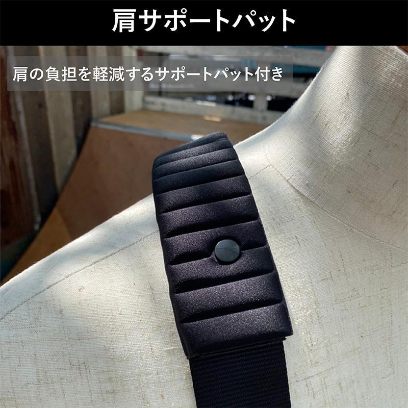正真 しょうしん フルハーネス フリーサイズ 新規格 安全帯 単品 墜落制止用器具 カラー3色|shoshin-shop|05