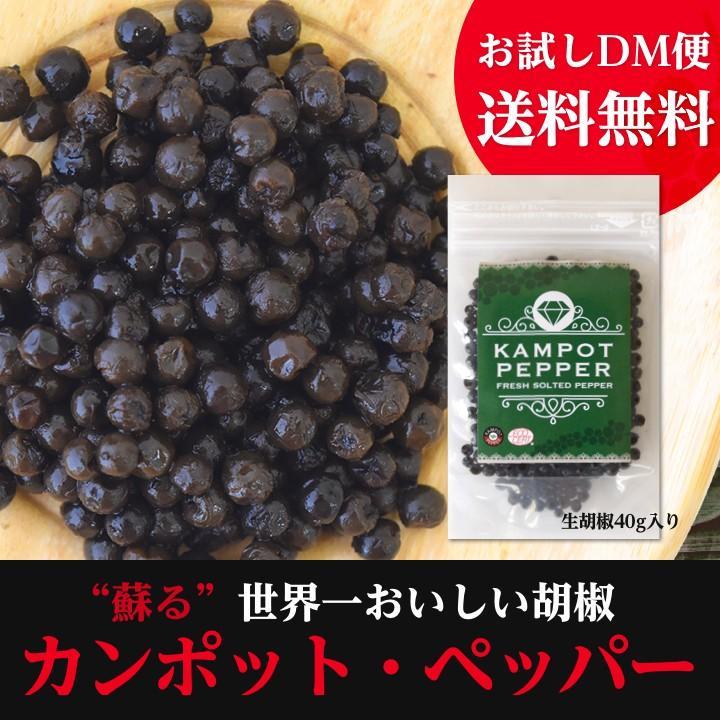 カンポット・ペッパー 生胡椒 40g 1袋 ゆうパケット送料無料 shougakoubou