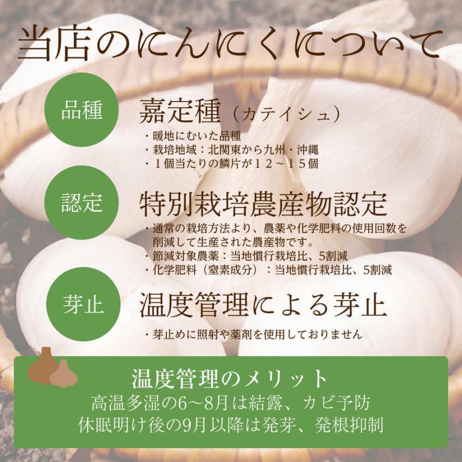 【完売御礼】嘉定種ホワイト バラシにんにく 1kg×10ネット 中国産 shougakoubou 05