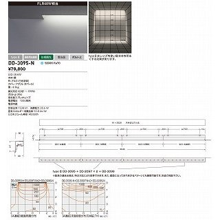 山田照明 照明器具 照明器具 照明器具 激安 DD-3095-N 間接照明(yamada) 920