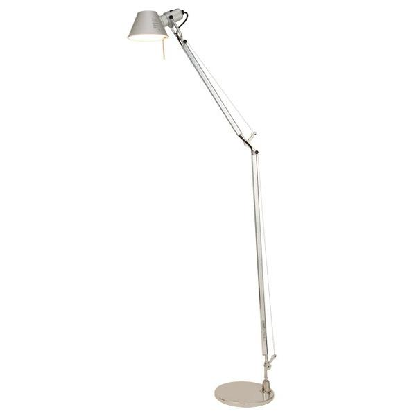 Tolomeo Lettura 銀 トロメオ スタンドライト アルテミデ(Artemide) 照明器具