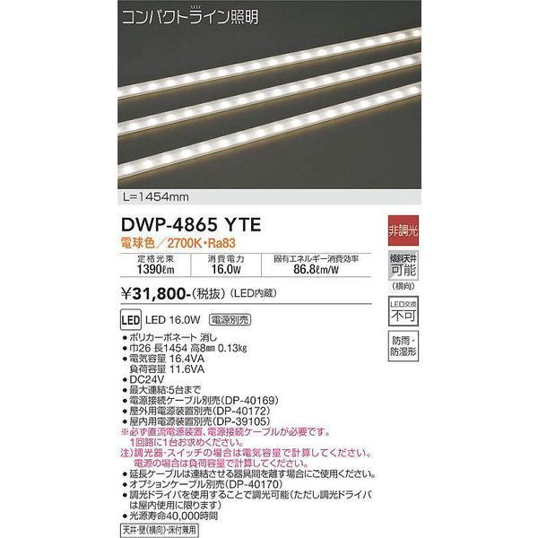 DWP-4865YTE 大光電機 照明器具 エクステリアライト DAIKO (DWP4865YTE) (DWP4865YTE) (DWP4865YTE) a3b