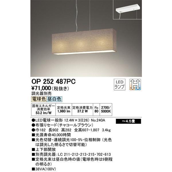 OP252487PC オーデリック 照明器具 ペンダント ペンダント ペンダント ODELIC 506