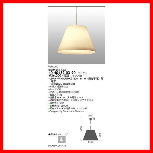40-40432-03-90 ダウンライト マックスレイ_直送品3_(MAXRAY) 照明器具