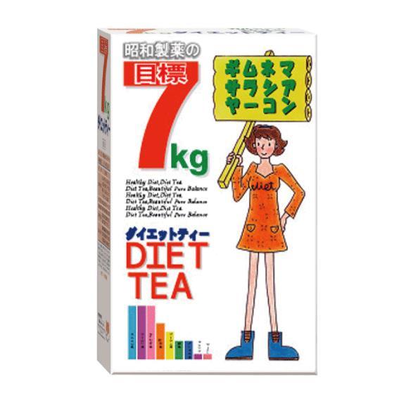 目標 7kg ダイエット ティー 茶 ギムネマ ウーロン はとむぎ 杜仲 プーアル茶 緑茶 どくだみ サラシア ヤーコン showa-direct 02