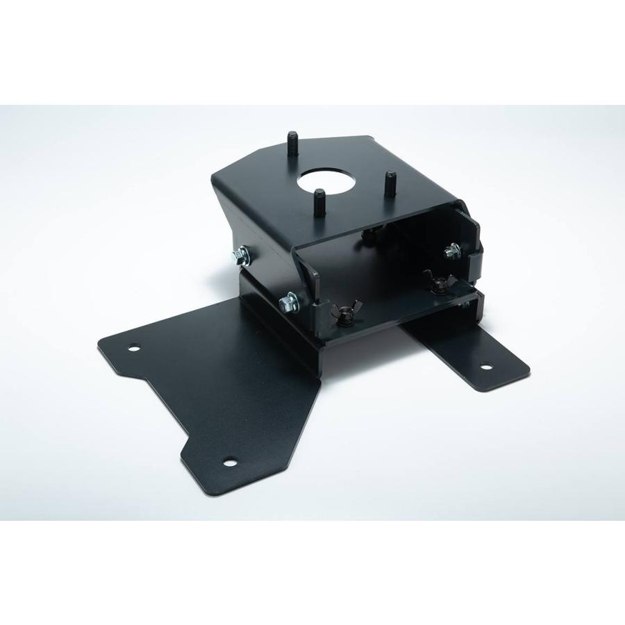 車検対応品 スペアタイヤ移動ブラケット 表向き JB64用|showa-garage