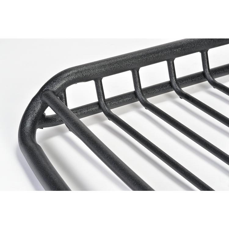 Mサイズ ブラック A-X(エークロス)シリーズ アルミ製ルーフラック |showa-garage|03
