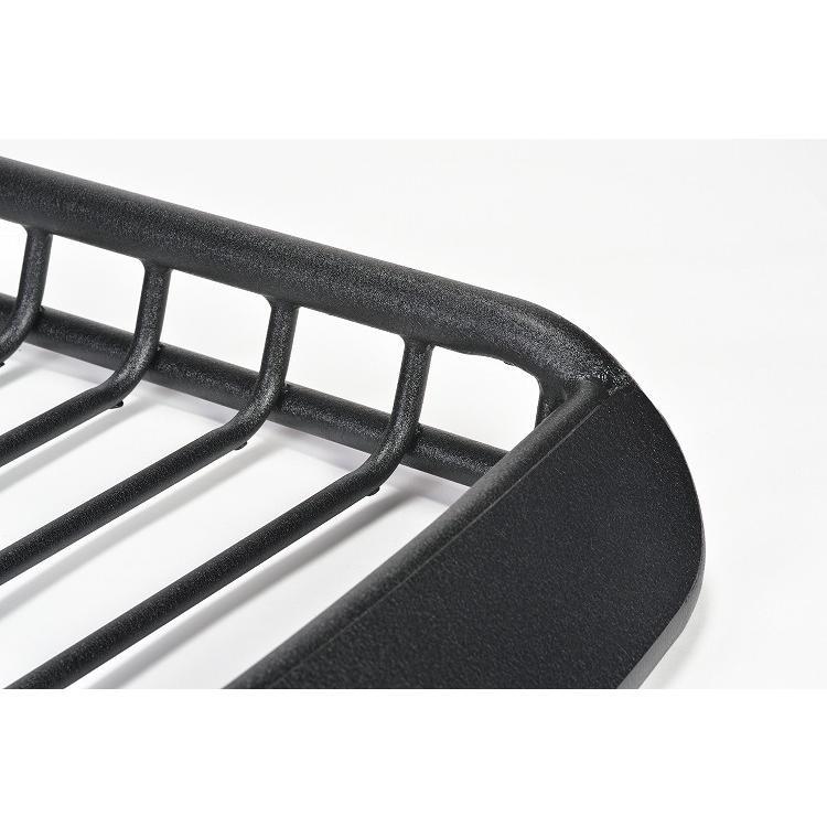 Mサイズワイド ブラック A-x(エークロス)シリーズ アルミ製ルーフラック|showa-garage|02