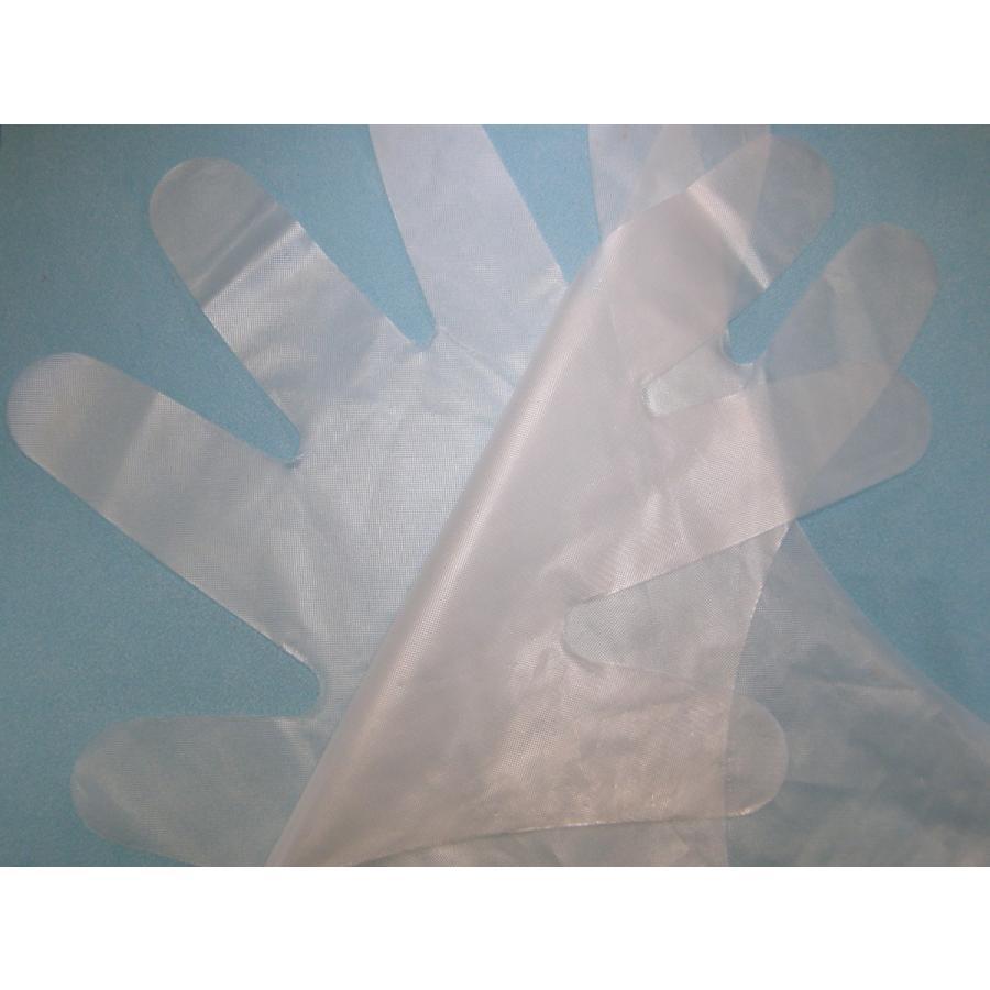 使い捨て手袋 業務用 安い 【CPEエンボス手袋 (L) ナチュラル】200枚x40パック/ケース|showa-shokai|04