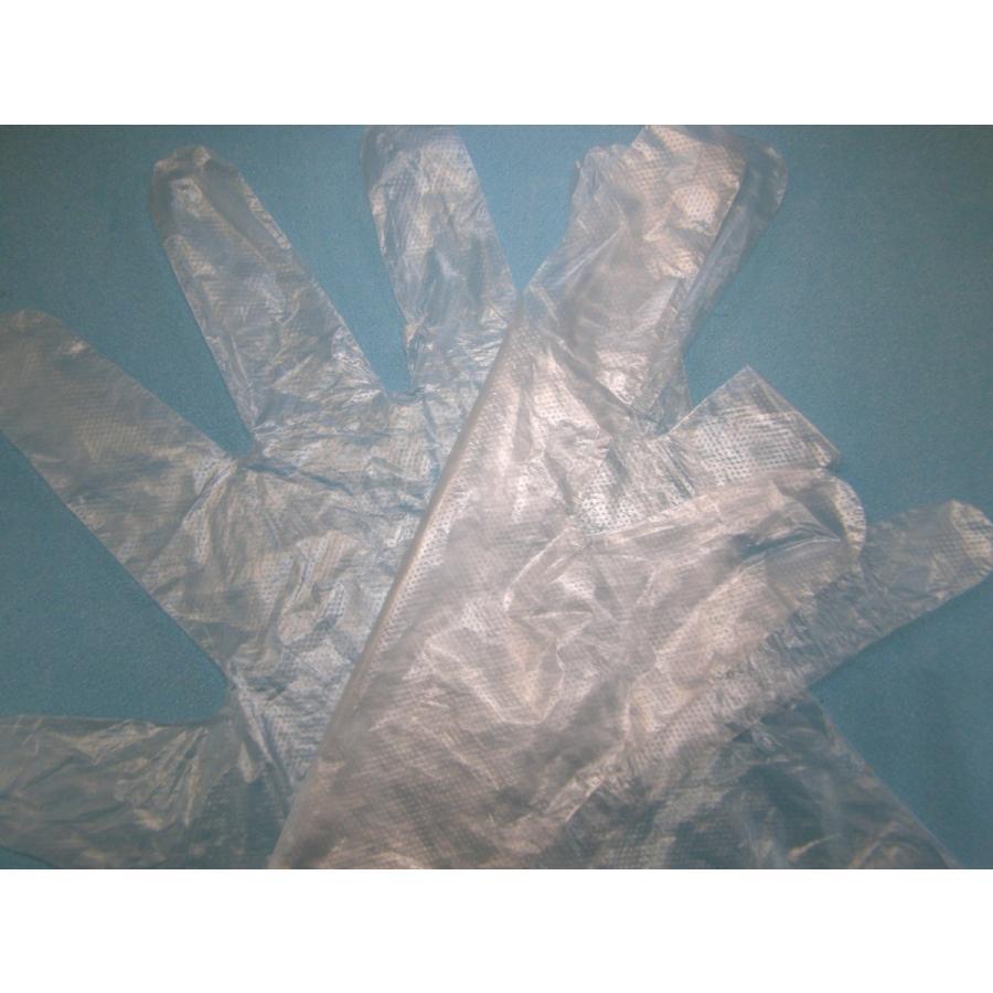 使い捨て手袋 業務用 安い 【HDポリエチレン手袋 (M) 透明】200枚x40パック/ケース|showa-shokai|04
