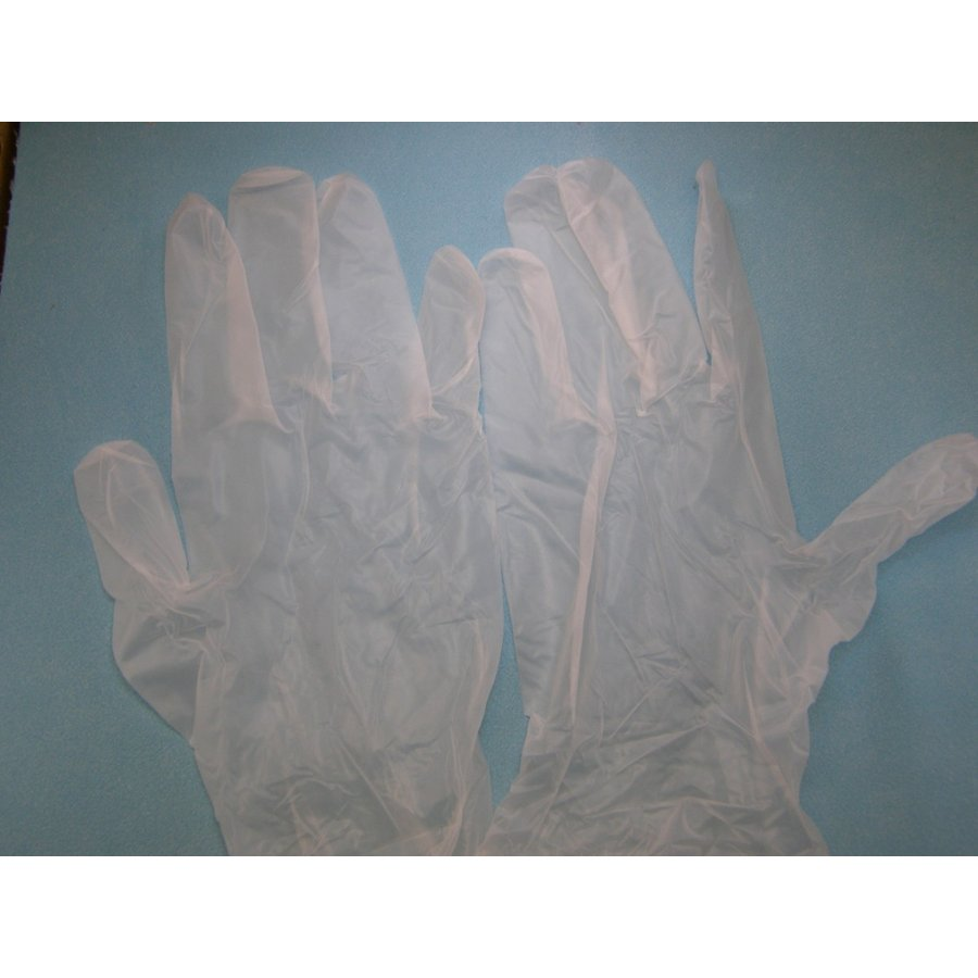 使い捨て手袋 業務用 安い 【プラスチックグローブ (S) 粉なし 半透明】100枚x30個/ケース|showa-shokai|06