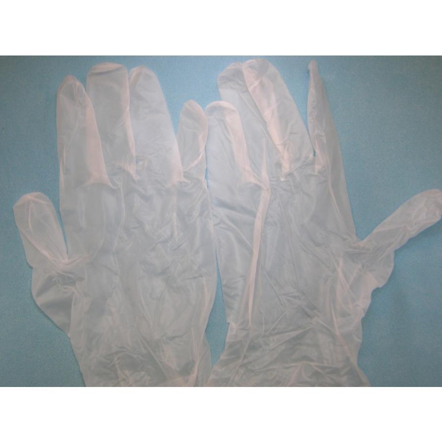 使い捨て手袋 業務用 安い 【プラスチックグローブ (M) 粉なし 半透明】100枚x30個/ケース|showa-shokai|04