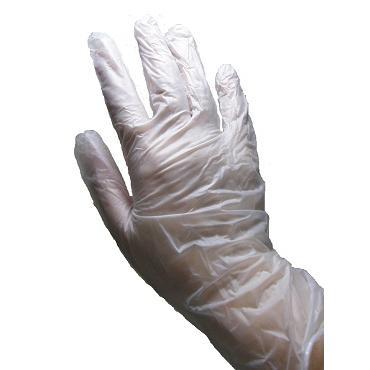 使い捨て手袋 業務用 安い 【プラスチックグローブ (L) 粉なし 半透明】100枚x30個/ケース showa-shokai