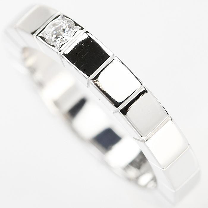 【SH50997】カルティエ ダイヤモンド リング K18ホワイトゴールド ラニエール 1P 7号 #47【中古】|sht-ys|04