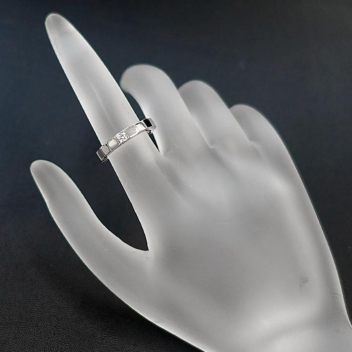 【SH50997】カルティエ ダイヤモンド リング K18ホワイトゴールド ラニエール 1P 7号 #47【中古】|sht-ys|06