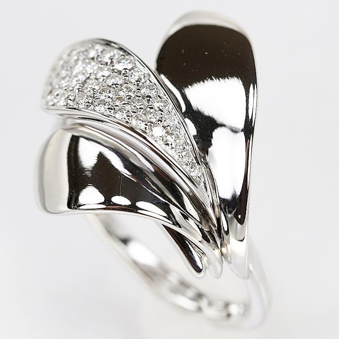 【SH58120】ジョルジオ ヴィスコンティ ダイヤモンド リング 0.47ct K18 ホワイトゴールド GIORGIO VISCONTI【中古】|sht-ys|05