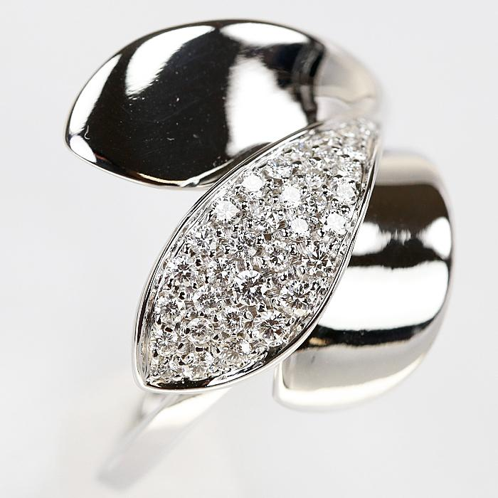【SH58120】ジョルジオ ヴィスコンティ ダイヤモンド リング 0.47ct K18 ホワイトゴールド GIORGIO VISCONTI【中古】|sht-ys|06